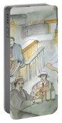 Italians  Ellis Island  Prohibition Album Portable Battery Charger