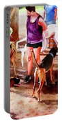 #258 Rruff Dog Park Portable Battery Charger