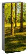 Nature Art Landscape Portable Battery Charger