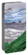 Glacier And Mountains Landscapes In Wild And Beautiful Alaska Portable Battery Charger