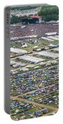 Bonnaroo Music Festival Aerial Photography Portable Battery Charger