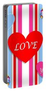 Valentines Portable Battery Charger