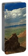 2d10338 Thunderhead Over Independence Monument Portable Battery Charger