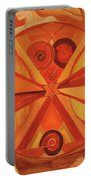 2nd Mandala - Sacral Chakra Portable Battery Charger