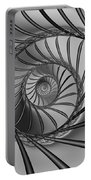 2x1 Abstract 434 Bw Portable Battery Charger