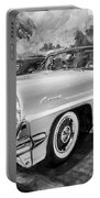 1959 Lincoln Continental Town Car Mk Iv Painted Bw   Portable Battery Charger