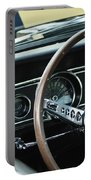 1966 Ford Mustang Cobra Steering Wheel Portable Battery Charger