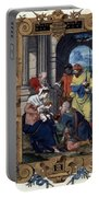 Adoration Of Magi Portable Battery Charger