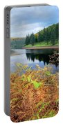 Autumn Derwent Reservoir Derbyshire Peak District Portable Battery Charger