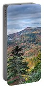 Autumn Foliage On Blue Ridge Parkway Near Maggie Valley North Ca Portable Battery Charger