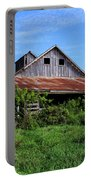 Barn In The Blue Sky Portable Battery Charger