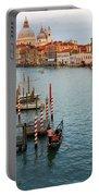 Basilica Di Santa Maria Della Salute, Venice, Italy Portable Battery Charger