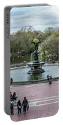 Bethesda Fountain Portable Battery Charger