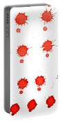 Blood Droplet Portable Battery Charger
