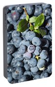 Blueberry Harvest Portable Battery Charger