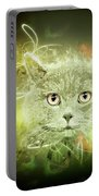 British Shorthair Cat Portable Battery Charger