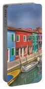 Burano - Venice - Italy Portable Battery Charger by Joana Kruse