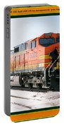 Burlington Northern Santa Fe Bnsf - Railimages@aol.com Portable Battery Charger