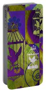 3 Caged Birds Portable Battery Charger