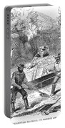 California Gold Rush, 1860 Portable Battery Charger