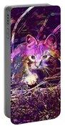 Cat Kitten Mieze Red Mackerel Tabby  Portable Battery Charger