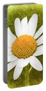 Chamomile Watercolor Portable Battery Charger