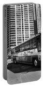 Chicago Bus And Buildings Portable Battery Charger