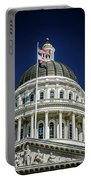 City Views Around California State Capitol Building In Sacrament Portable Battery Charger