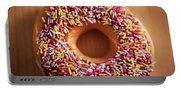 Donut And Sprinkles Portable Battery Charger