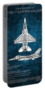 F16 Fighting Falcon Portable Battery Charger