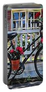 Flower Bike Collection Portable Battery Charger