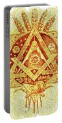 Freemason Symbolism Portable Battery Charger