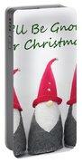 Christmas Gnomes Portable Battery Charger