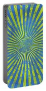 Grunge Swirl Portable Battery Charger