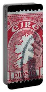 Irish Postage Stamp Portable Battery Charger
