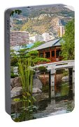 Japanese Garden In Monte Carlo Portable Battery Charger