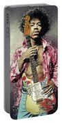 Jimi Hendrix Portable Battery Charger