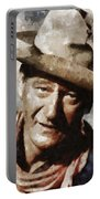 John Wayne Hollywood Actor Portable Battery Charger