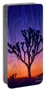 Joshua Tree With Special Effects Portable Battery Charger