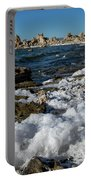 Lakefront At Mono Lake, Eastern Sierra, California, Usa Portable Battery Charger