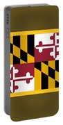 Maryland Flag Portable Battery Charger
