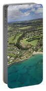 Maui Aerial Of Kapalua Portable Battery Charger