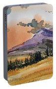 Montana Landscape Portable Battery Charger