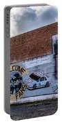 Mural - Downtown Bristol Tennessee/virginia Portable Battery Charger