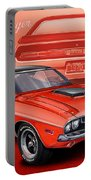 Dodge Challenger 1970 R/t Portable Battery Charger