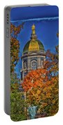 Notre Dame's Golden Dome Portable Battery Charger