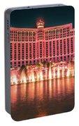 November 2017 Las Vegas Nevada - Scenes Around Bellagio Resort H Portable Battery Charger