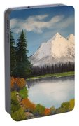 Oil Painting Portable Battery Charger