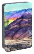Outside Mural Portable Battery Charger