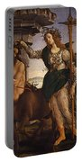 Pallas And The Centaur Portable Battery Charger